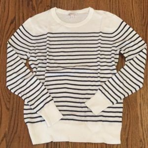 Merona striped nautical sweater